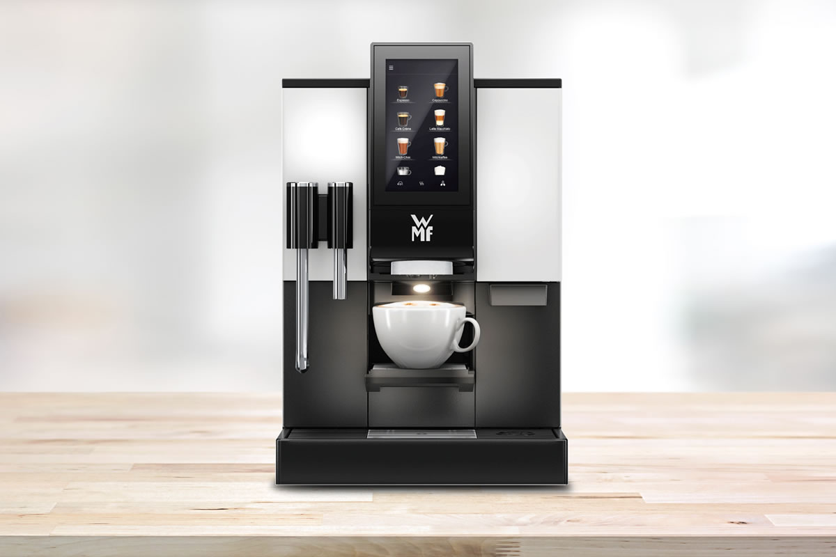 WMF 1100s, Bean to cup office coffee machine